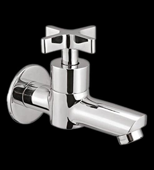 Buy Blues Xea Silver Brass Long Nose Bath Tap Online - Bath Taps ...