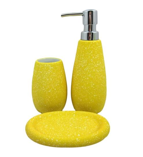 Bluewater Lemon Yellow Bathroom Set