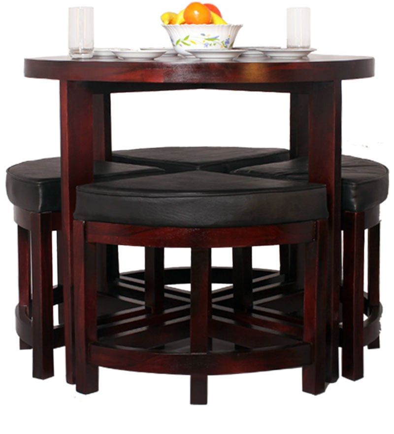 Black Forest Contemporary Space Saving Dining Set By