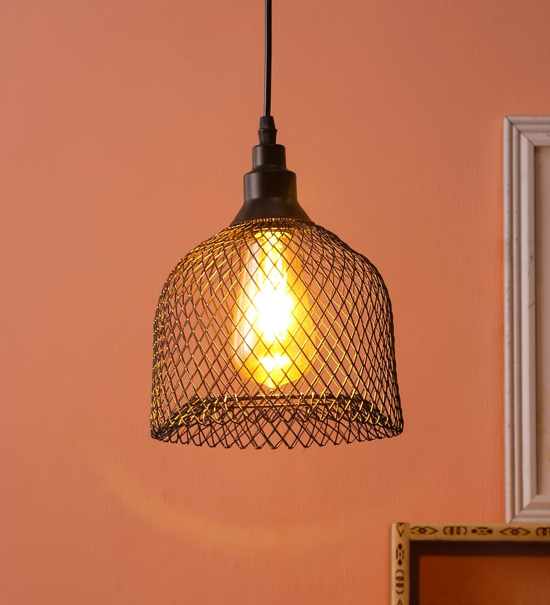 d99ea31dfeb5 Buy Black Iron Hanging Light by DecorativeRay Online - Eclectic ...