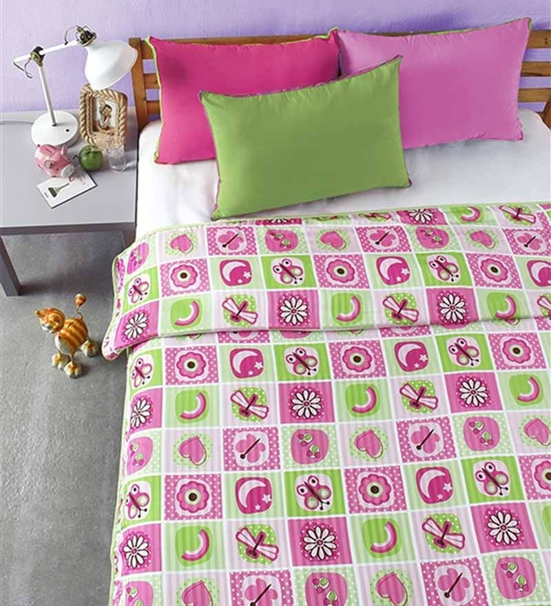Digital Multicolour Microfibre Abstract Single Dohar by Bliss