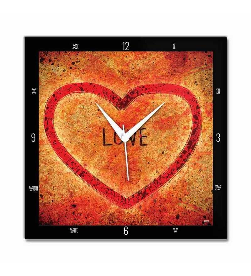 Bluegape Love In Heart Wall Clock By Bluegape Online Contemporary