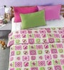 Checkered Multicolour Microfibre Abstract Double Dohar by Bliss