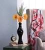Black Glass MG Stretch Vase by Bloomfields
