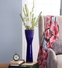 Blue Glass Lsa Vase by Bloomfields