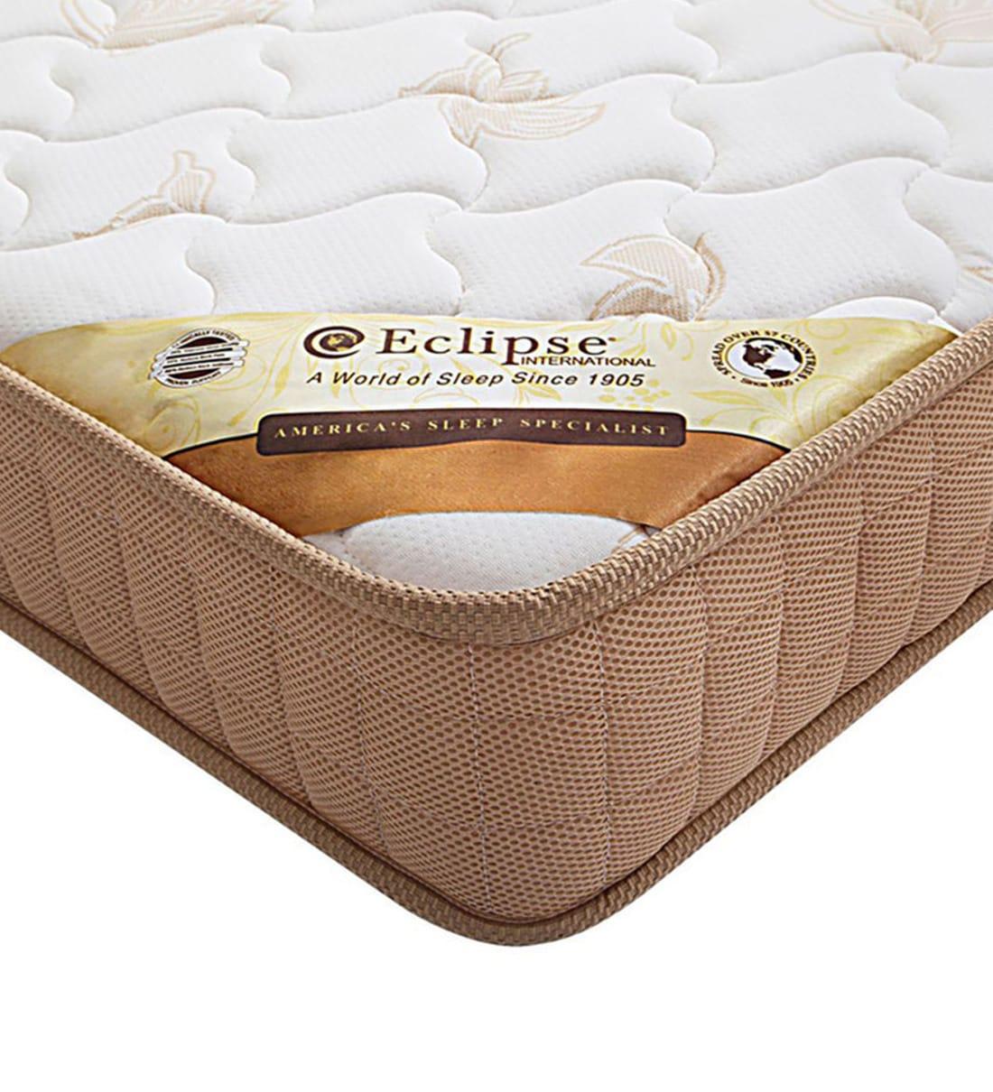 Buy Bonnell Spring 34x21x6 Baby Crib Mattress By Eclipse International Online Crib Mattress Baby Mattresses Mattresses Pepperfry Product