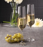 Bohemia Crystal Sandra Glass 200 ML Champagne Flute Glass
