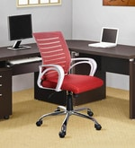 Boom Ergonomic Chair in Red Colour
