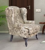 Bordeaux Beauty Chair in Brown color