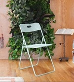 Bordeaux Folding Steel Chair in Mint