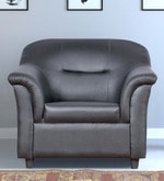 Boston One Seater Sofa in Black Colour