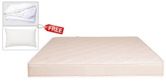 BOOM Health Queen Size (78x60) 5 Inches Thick Semi-Firm Mattress (FREE Pillow & Protector)