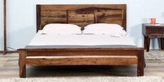 Boyd King Size Bed in Provincial Teak Finish