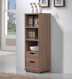 Book Shelf In Sonama Oak Finish By Evergreen - 1590875