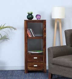 Oriel Book Shelf In Provincial Teak Finish By Woodsworth