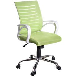 Boom Ergonomic Chair in Green Colour by Emperor at pepperfry