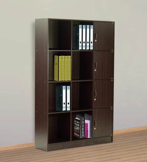 Book Shelf With Four Cabinets Eight