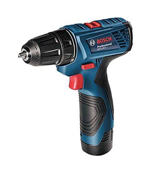 buy bosch gsr 120 li 12v steel plastic double battery cordless drill online drill machines. Black Bedroom Furniture Sets. Home Design Ideas