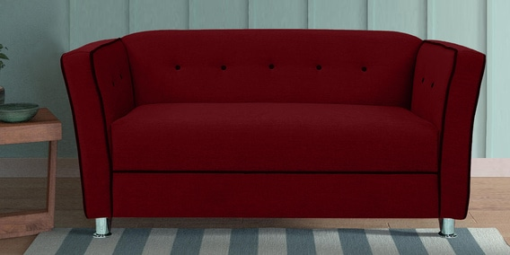 Bostino 2 Seater Sofa In Red Colour By Vittoria