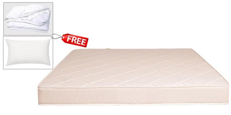 BOOM King Size (78 x 72) Health Semi-Firm Mattress (PILLOW & PROTECTOR FREE)  by Springtek Ortho Coir