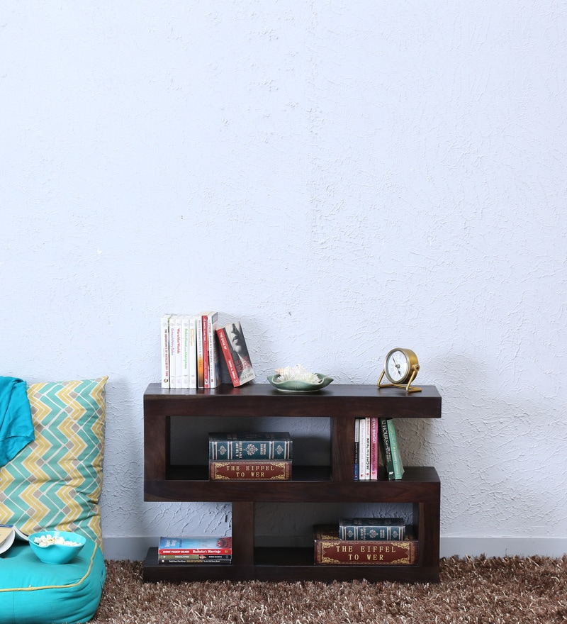 Acropolis Book Shelf in Warm Chestnut Finish by Woodsworth