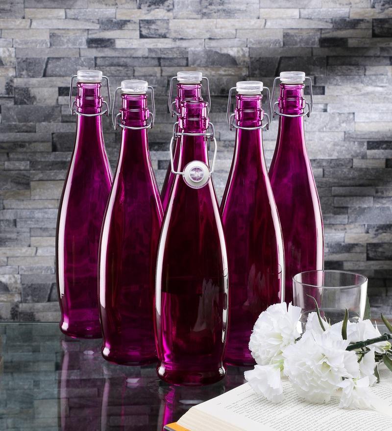 Borgonovo Alighieri Purple Glass 1 L Bottle