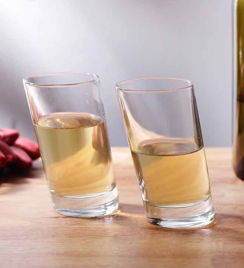 Borgonovo Bic.Pisa Glass 360 ML Glass - Set Of 6