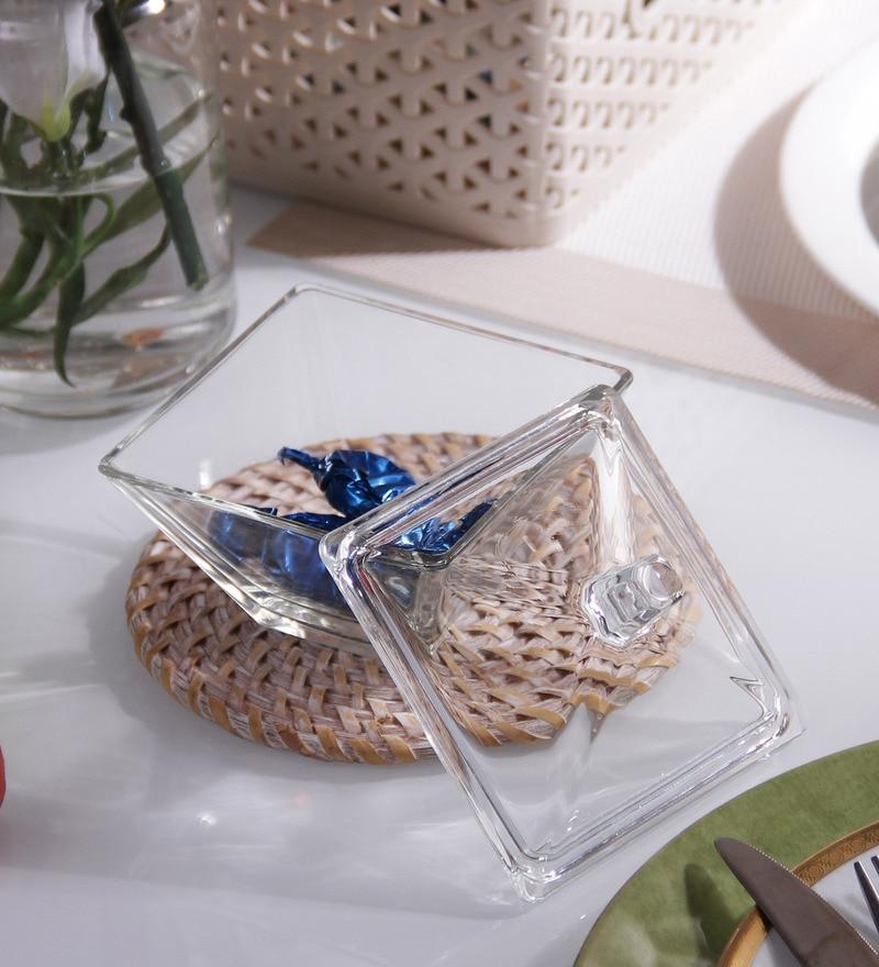 Borgonovo Modi Fancy Sweet Box Glass 250 ML Bowl