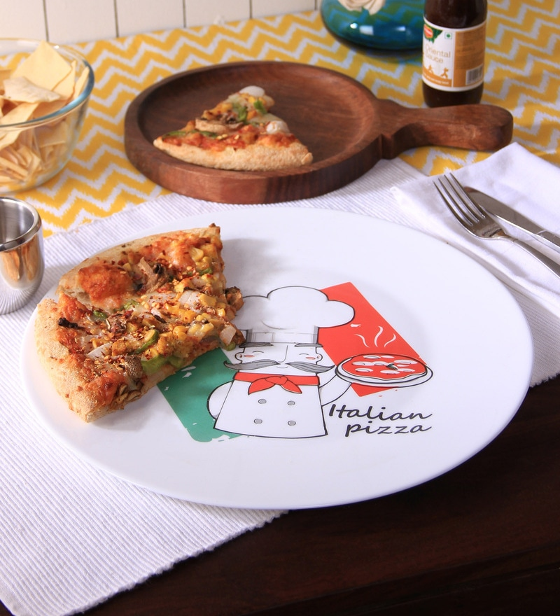 Bormioli Rocco Chef Opalware Pizza Plate