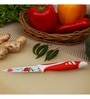 Boffiki Red Stainless Steel Knife - Set of 3