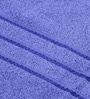 Bombay Dyeing Blue Cotton Bath Towel - Set of 4