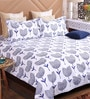 GREY Cotton King Size Bedsheet - Set of 3 by Bombay Dyeing