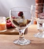 Borgonovo Beach Glass 550 ML Dessert Bowl - Set Of 6