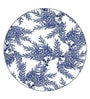 Boston International Caskata Studio Cedar Blue Melamine Dinner Plate