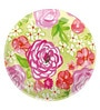 Boston International Rose Garden Melamine Salad Plate