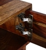 Boyd Entertainment Unit in Provincial Teak Finish by Woodsworth
