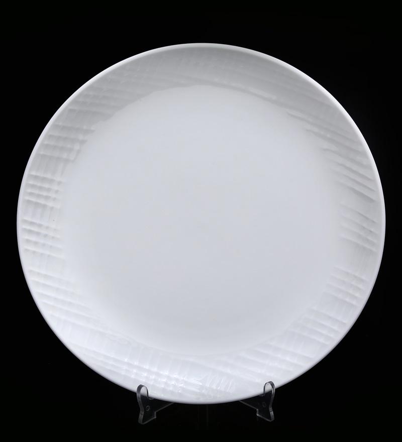 Bp Bharat Bmw Fine Bone China Plate - Set of 12