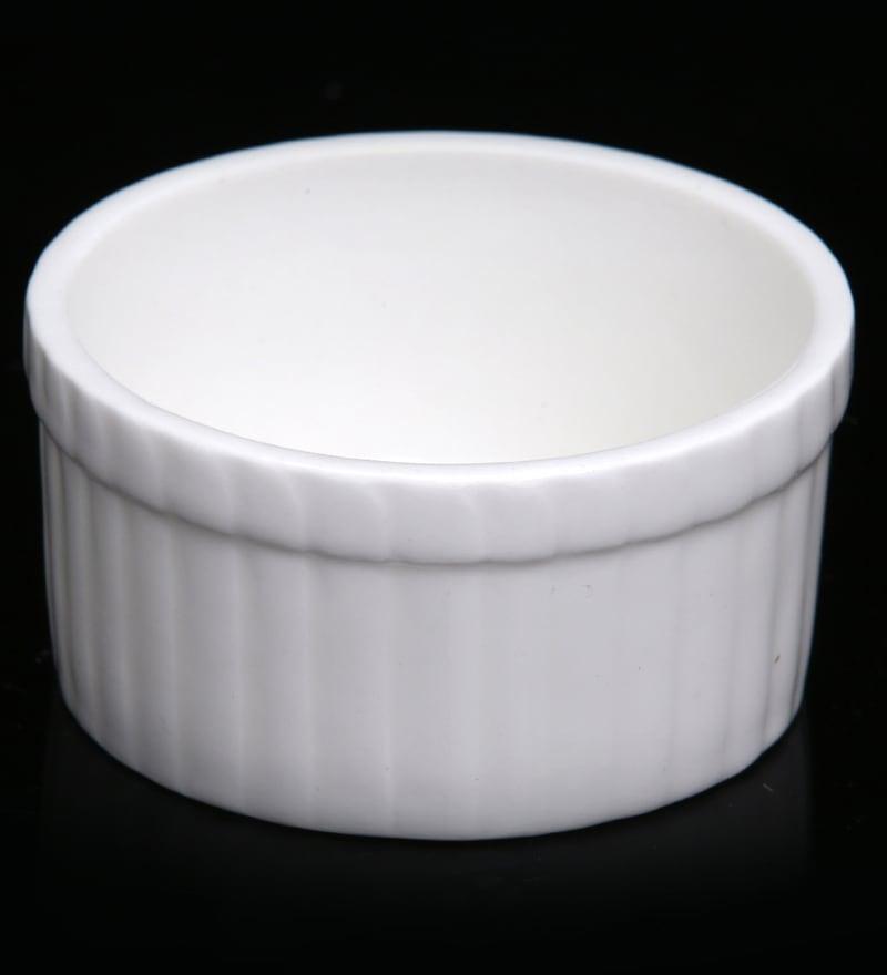 Bp Bharat Fine Bone China Ramekin Bowl - Set of 36