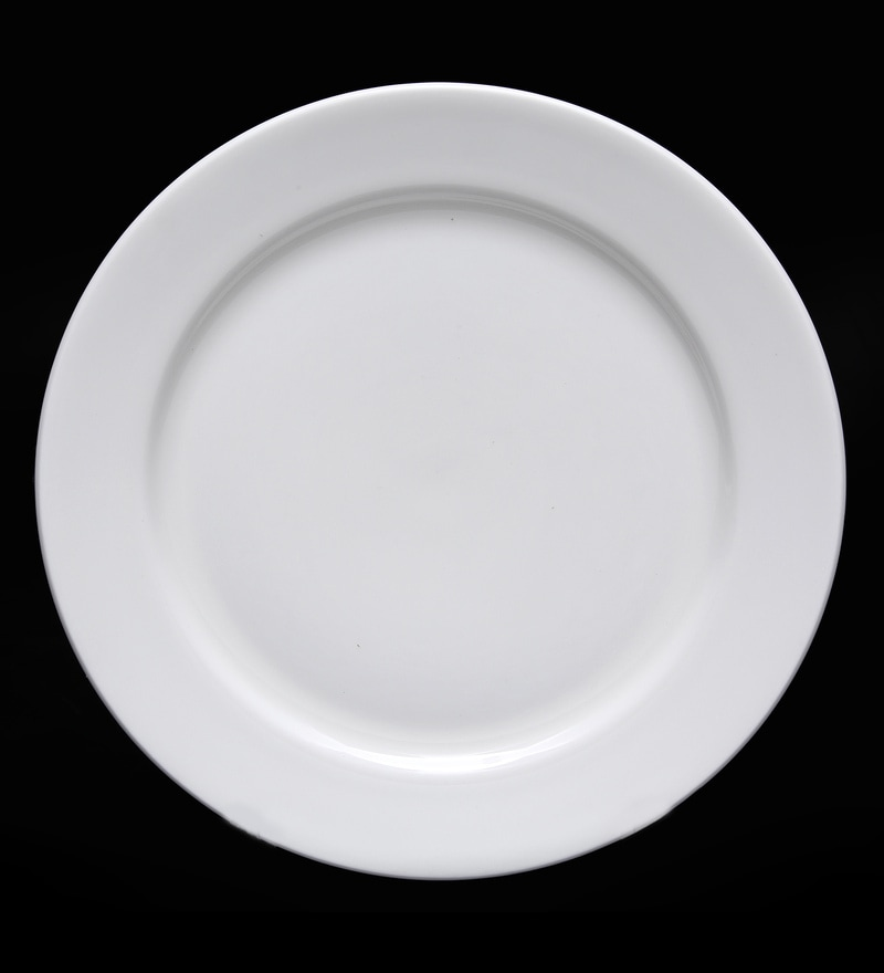 Bp Bharat Georgian Fine Bone China Plate - Set of 12
