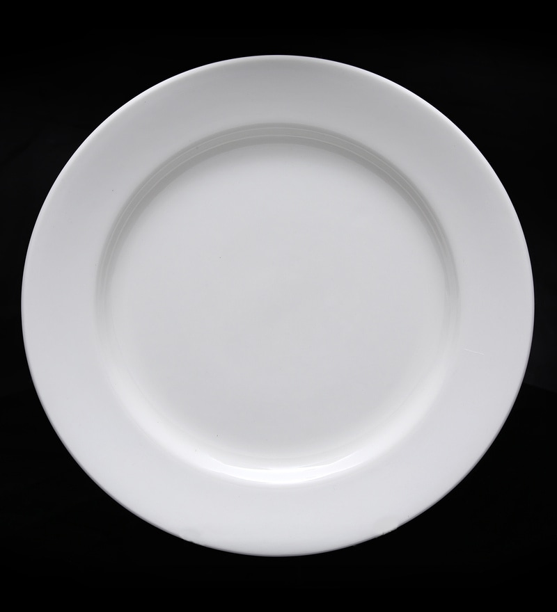 BP Bharat Georgian Fine Bone China Plate - Set of 6