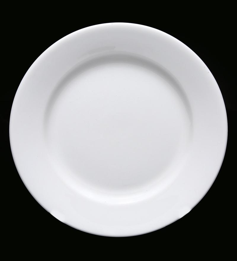 BP Bharat Georgian Fine Bone China Plate - Set of 12