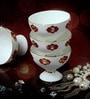 Bp Bharat Fine Bone China 130 ML Ice Cream Cup - Set of 6