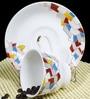 BP Bharat Ngr Imagine Fine Bone China 150 ML Cup & Saucer - Set of 6