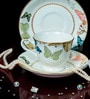 Bp Bharat Ngr Juliet with Crystals Fine Bone China 150 ML Cup & Saucer - Set of 6