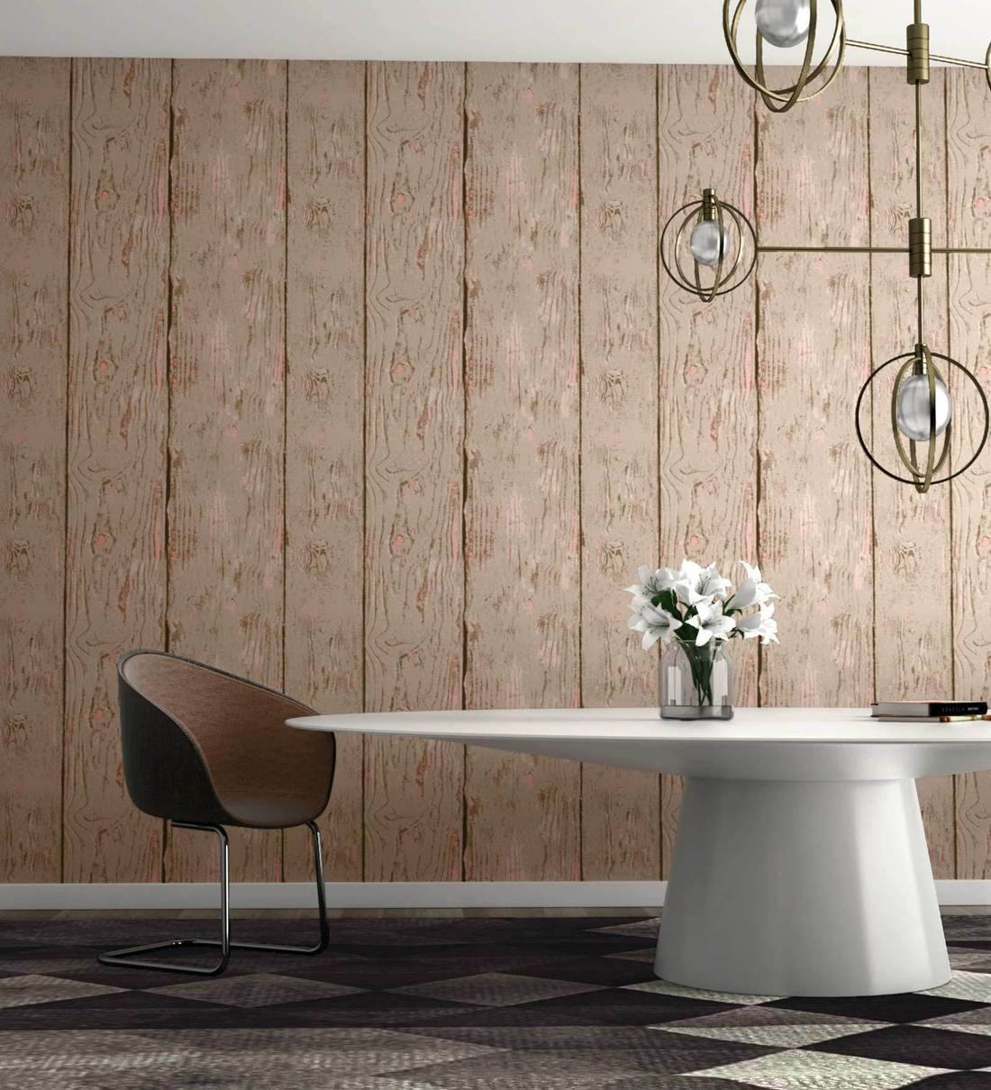 Buy Brown Pink Forest Studio Wallpaper Nilaya Wall Coverings By Asian Paints Online Pattern Textures Wallpapers Furnishings Home Decor Pepperfry Product