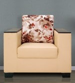 Brio One Seater Sofa in Camel Colour