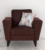 Bristol One Seater Sofa in Brown Colour