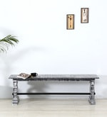 Brunswick Bench in Grey Distress  Finish