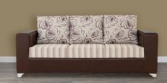 Brio Three Seater Sofa in Brown Colour