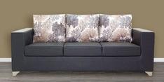 Brio Three Seater Sofa in Grey Colour